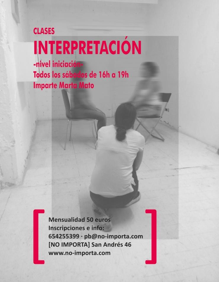 Clases de teatro Marta Mato en Coruña